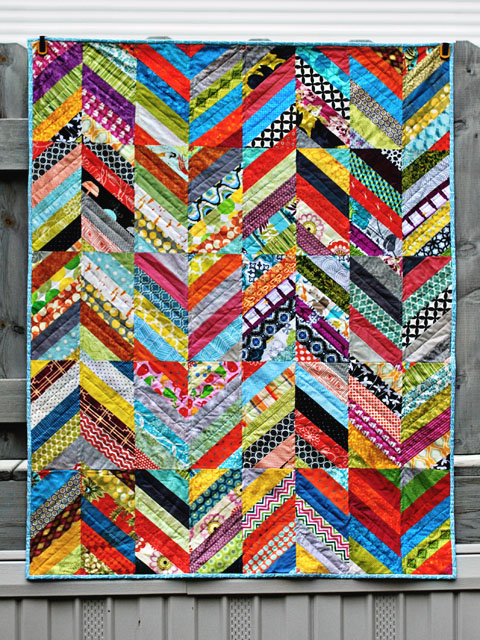 Herringbone Wasn T Quilt In A Day