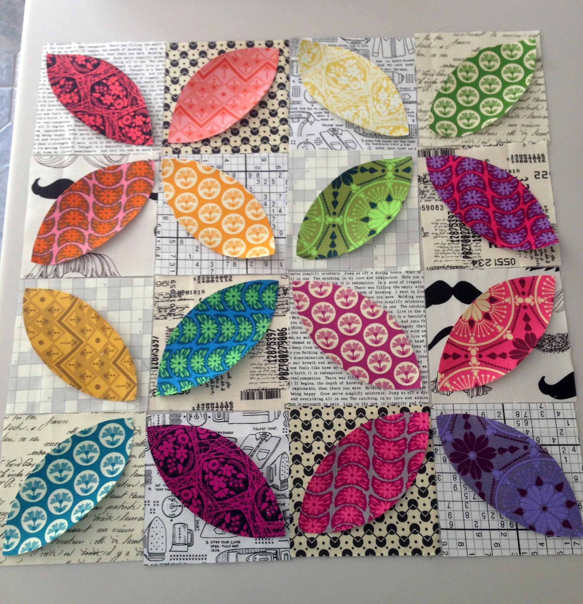 Quilty Habit: Orange Peel QAL: Applique Stitches with Ashley of ... : orange peel quilt - Adamdwight.com